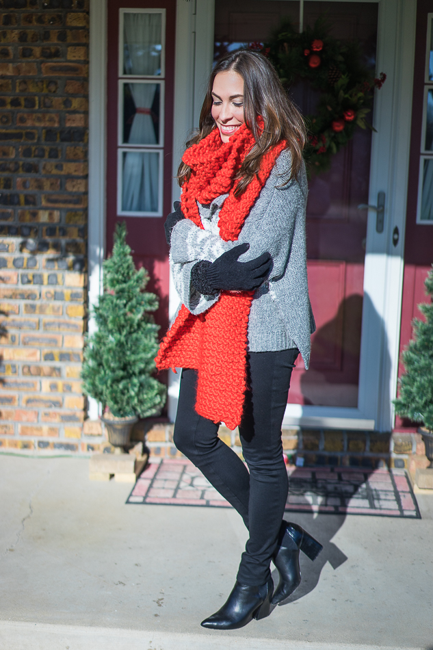 CHRISTMAS FAIR ISLE SWEATER - A Glam Lifestyle