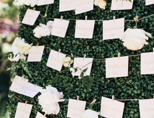 Prim and Pixie_wedding placecards_placecard display 2