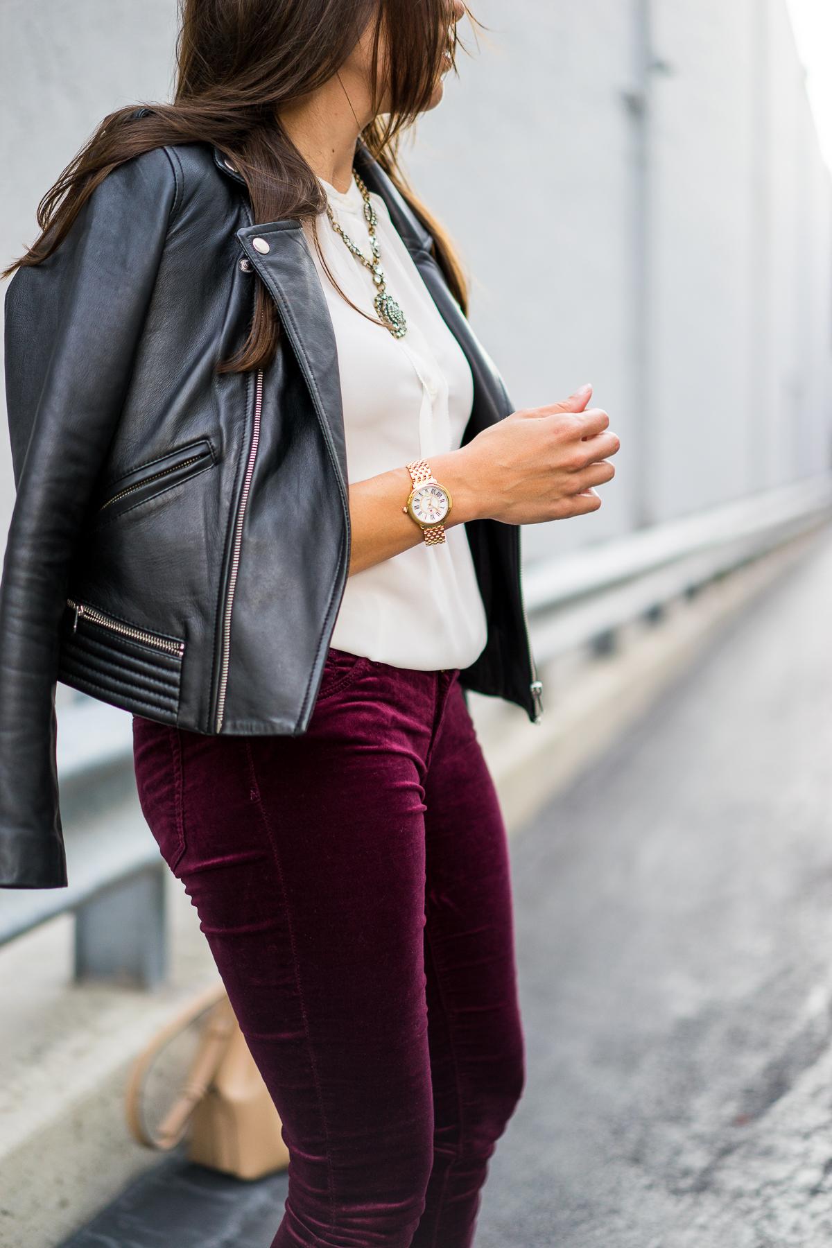 How To Wear Velvet Leggings For Fall A Glam Lifestyle