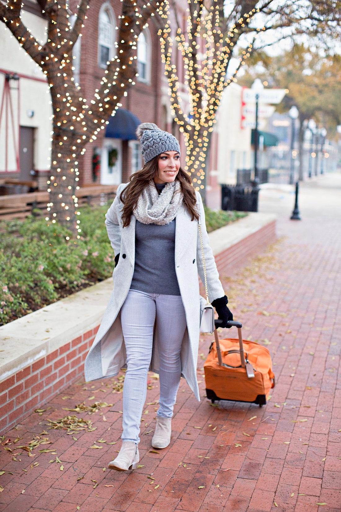 4794f1863477 a-glam-lifestyle-blogger-amanda -wears-express-grey-turtleneck-club-monaco-daylina-coat-with-tumi-voyageur-carry-on-bag