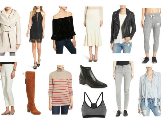 Amanda from A Glam Lifestyle shares the best of the Nordstrom half yearly sale picks in December