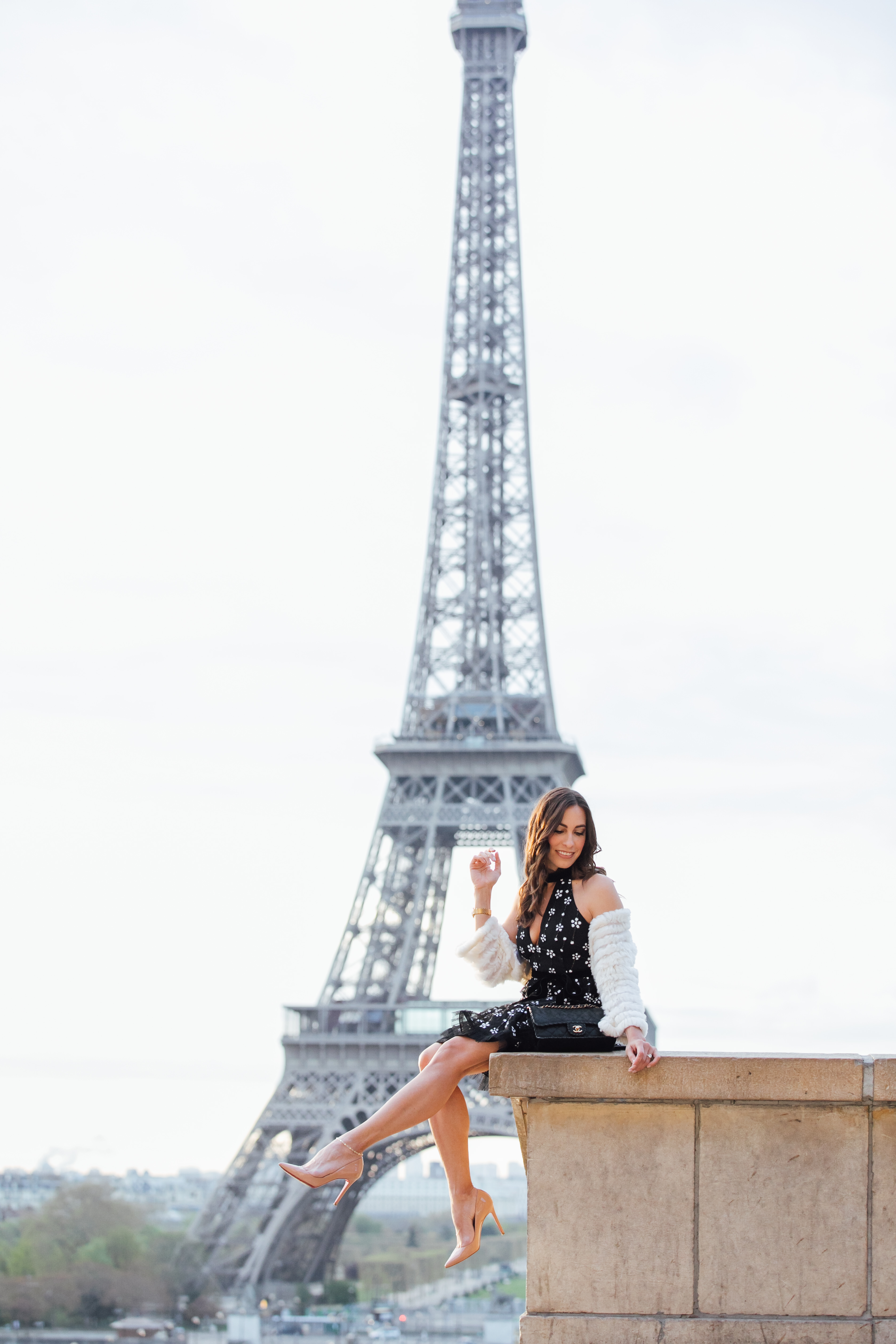 Alexis dresses are perfect for Spring Paris fashion as shown by Amanda of A Glam Lifestyle blog in the Alexis Poppy dress