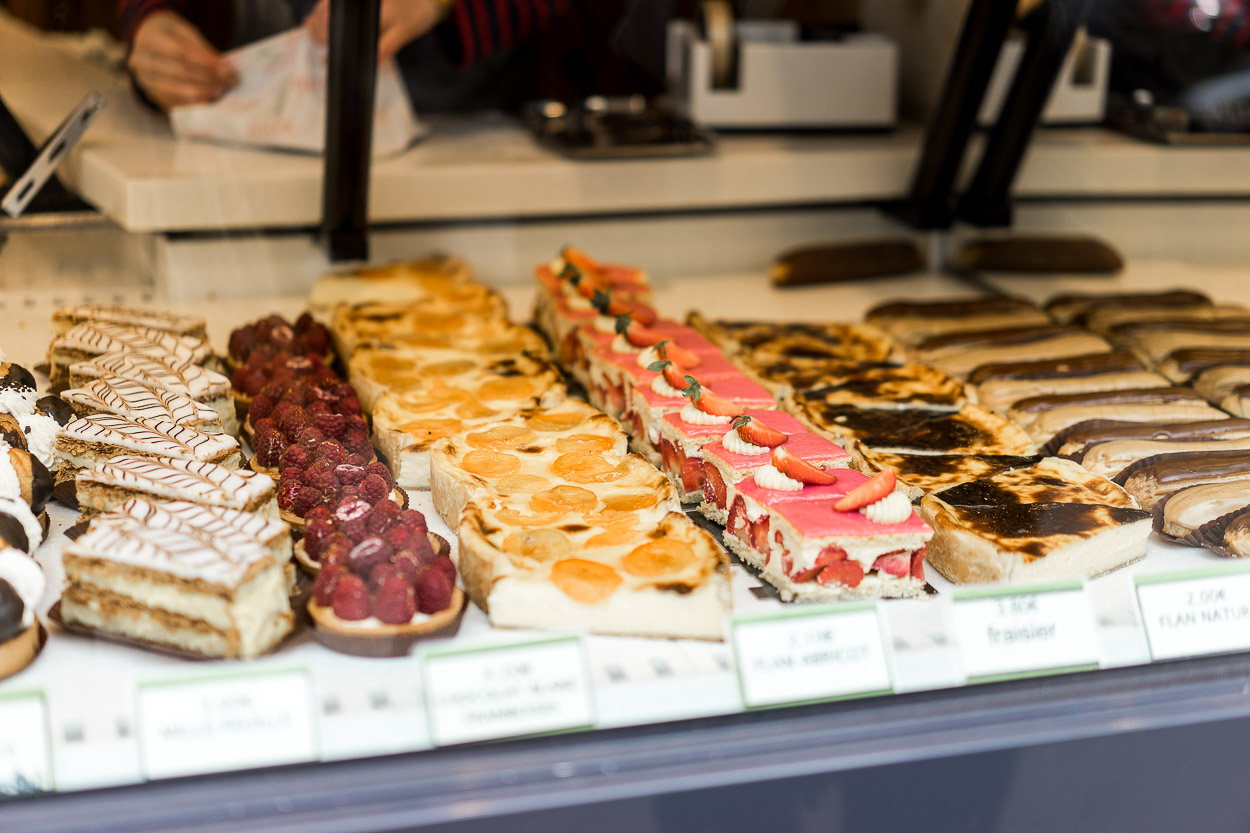 Taste delicious pastries and breads at a boulangerie on the Montmartre Secret Food Tour in Paris like A Glam Lifestyle blogger Amanda