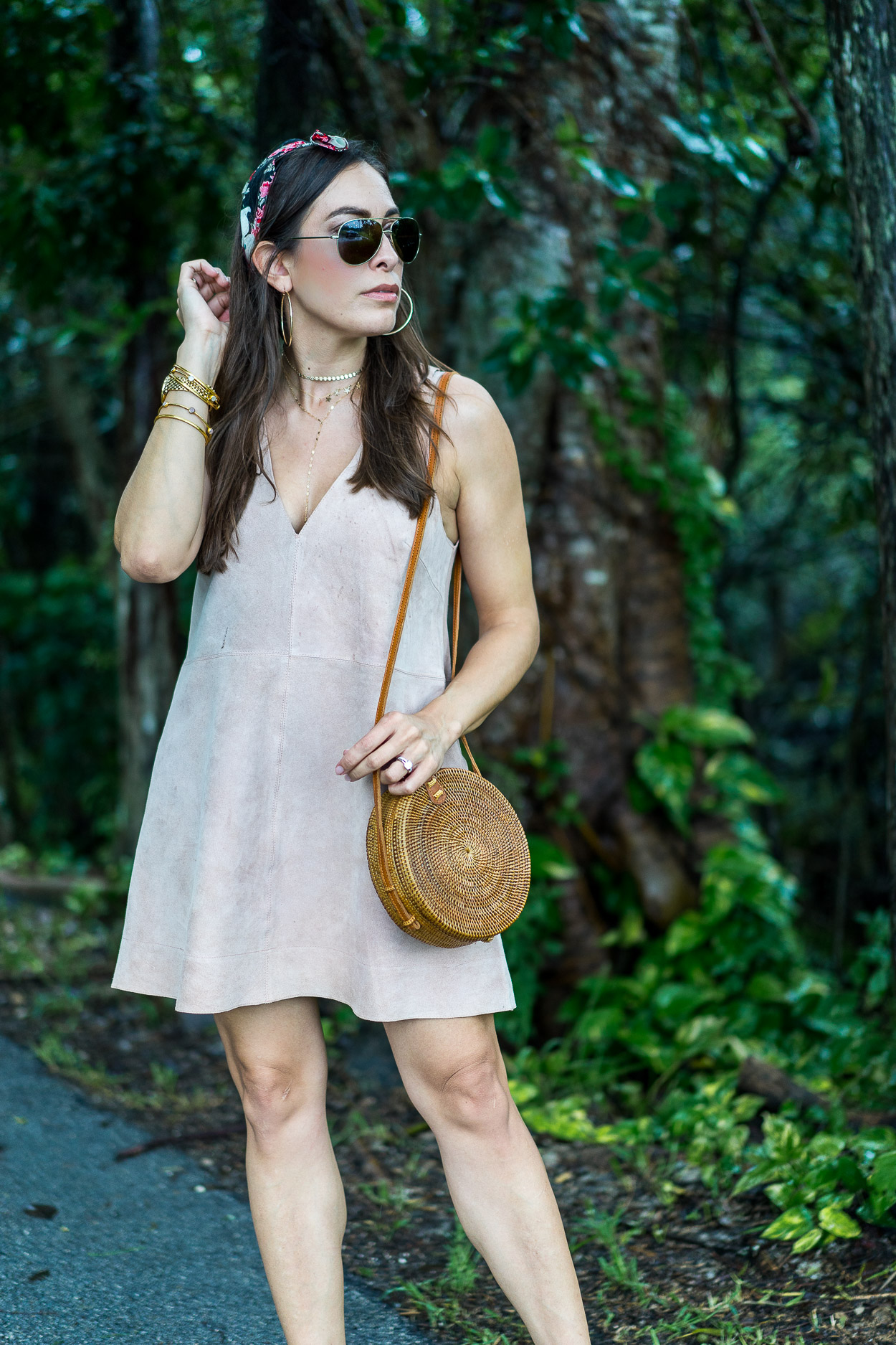 d12bff5417 ... like · Free People retro love suede dress styled for Summer by Amanda  of A Glam Lifestyle blog