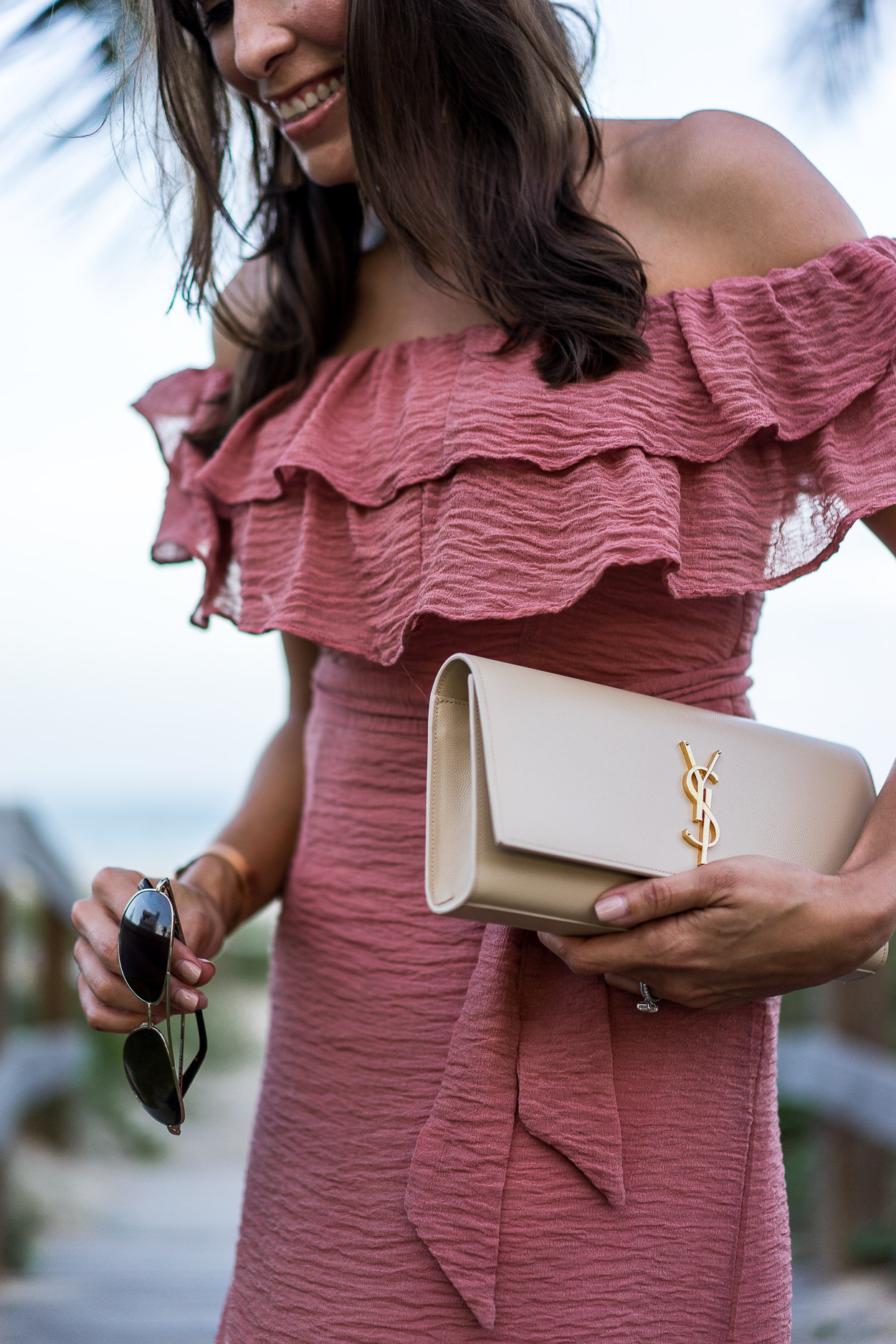 af283d84152e7 summer-style-date-night-ideas-chicwish-mauve-dress-beach-style-ysl-monogram- clutch-warby-parker-aviators-aglamlifestyle-blogger-5