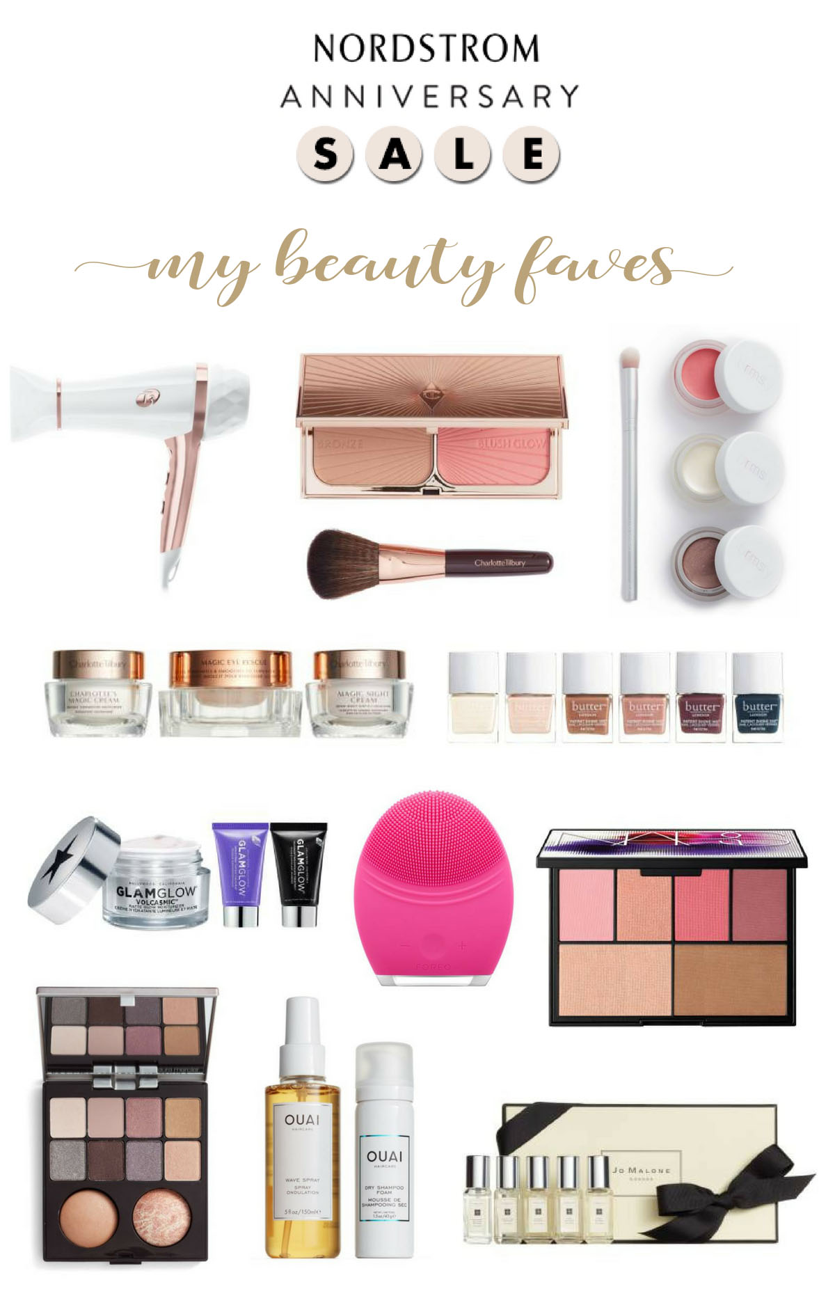 2017 Nordstrom Beauty sale picks of the Nordstrom Anniversary Sale Early Access items as shown by Amanda of A Glam Lifestyle blog