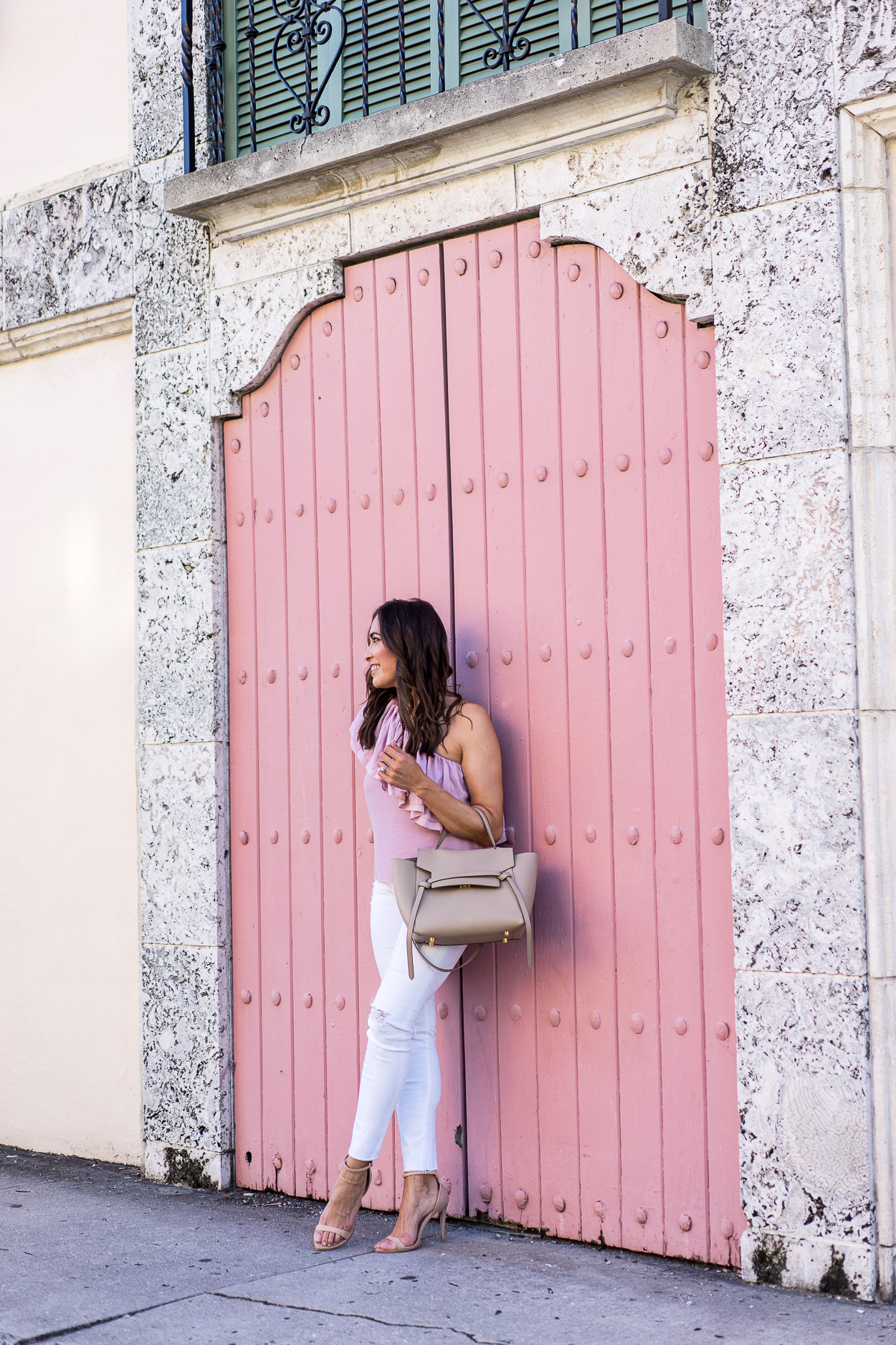 ... AGlamLifestyle blogger shares Celine Belt Bag review and how she wears  it around town ... 27edf644c7909