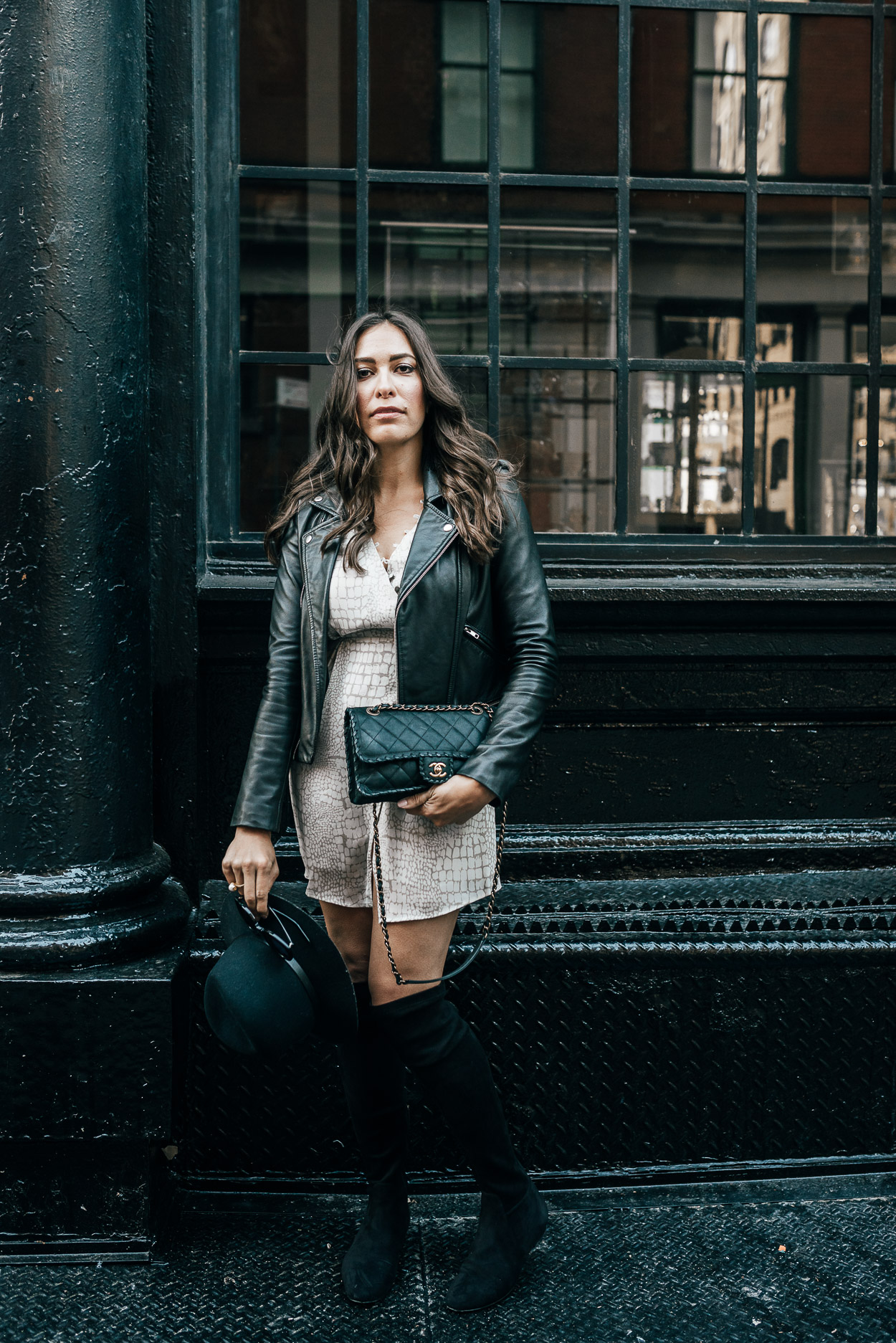 Fall collection by Gentle Fawn styled by AGlamLifestyle blogger in Soho during NYFW