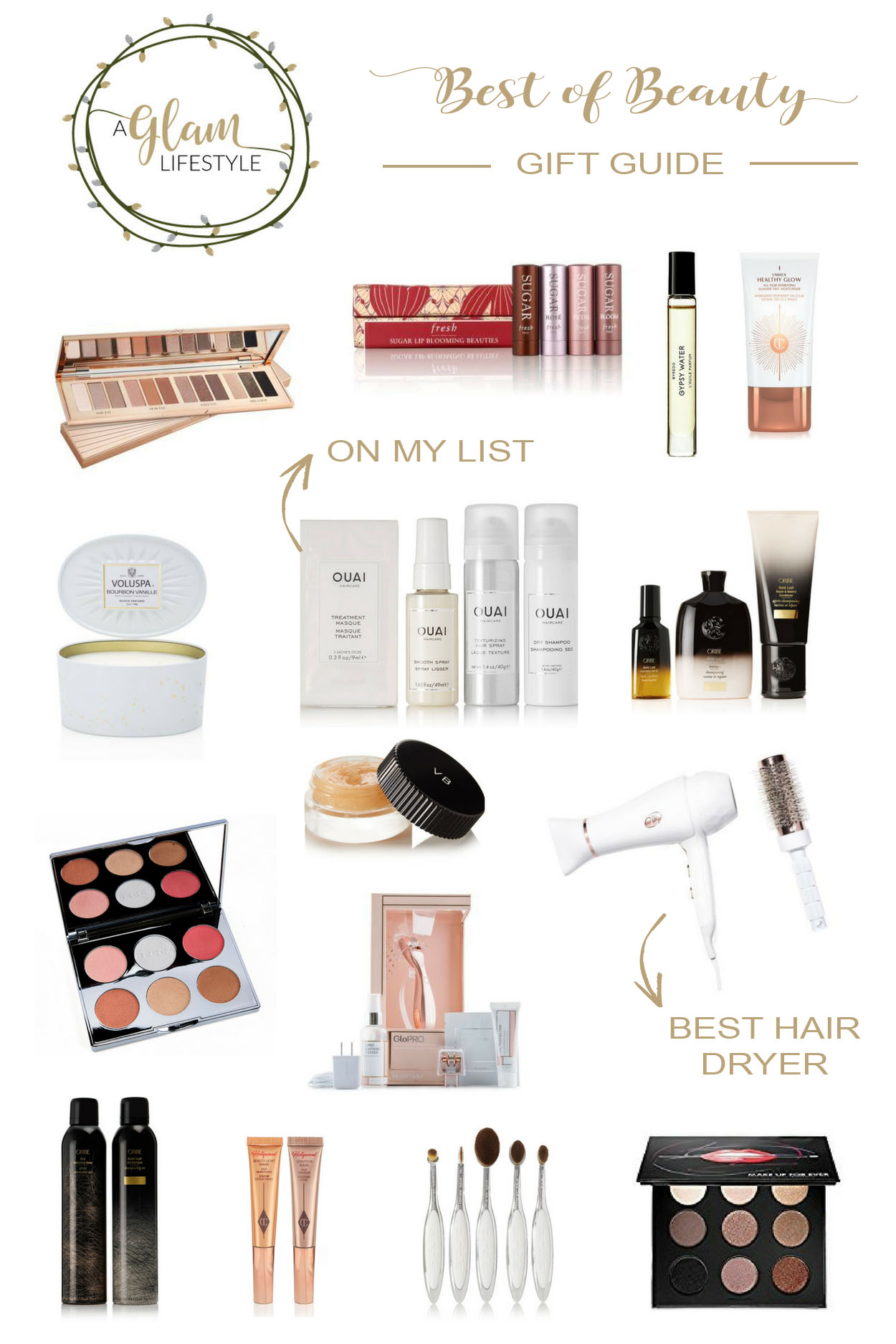 Amanda of A Glam Lifestyle shares her 2017 Best of Beauty gift guide