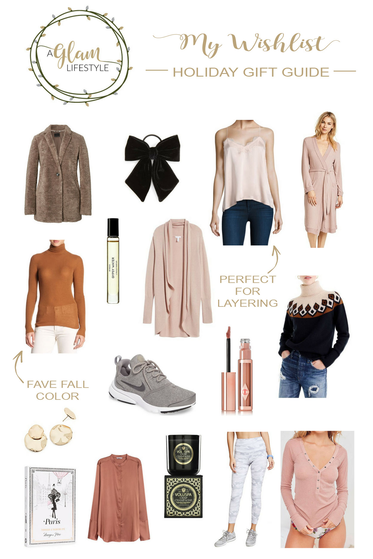 Get my wishlist here - Holiday gift guide shared by South Florida fashion blogger Amanda of A Glam Lifestyle
