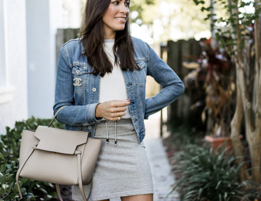 Anne Fontaine new casual line is perfect weekend wear styled by AGlamLifestyle blogger Amanda