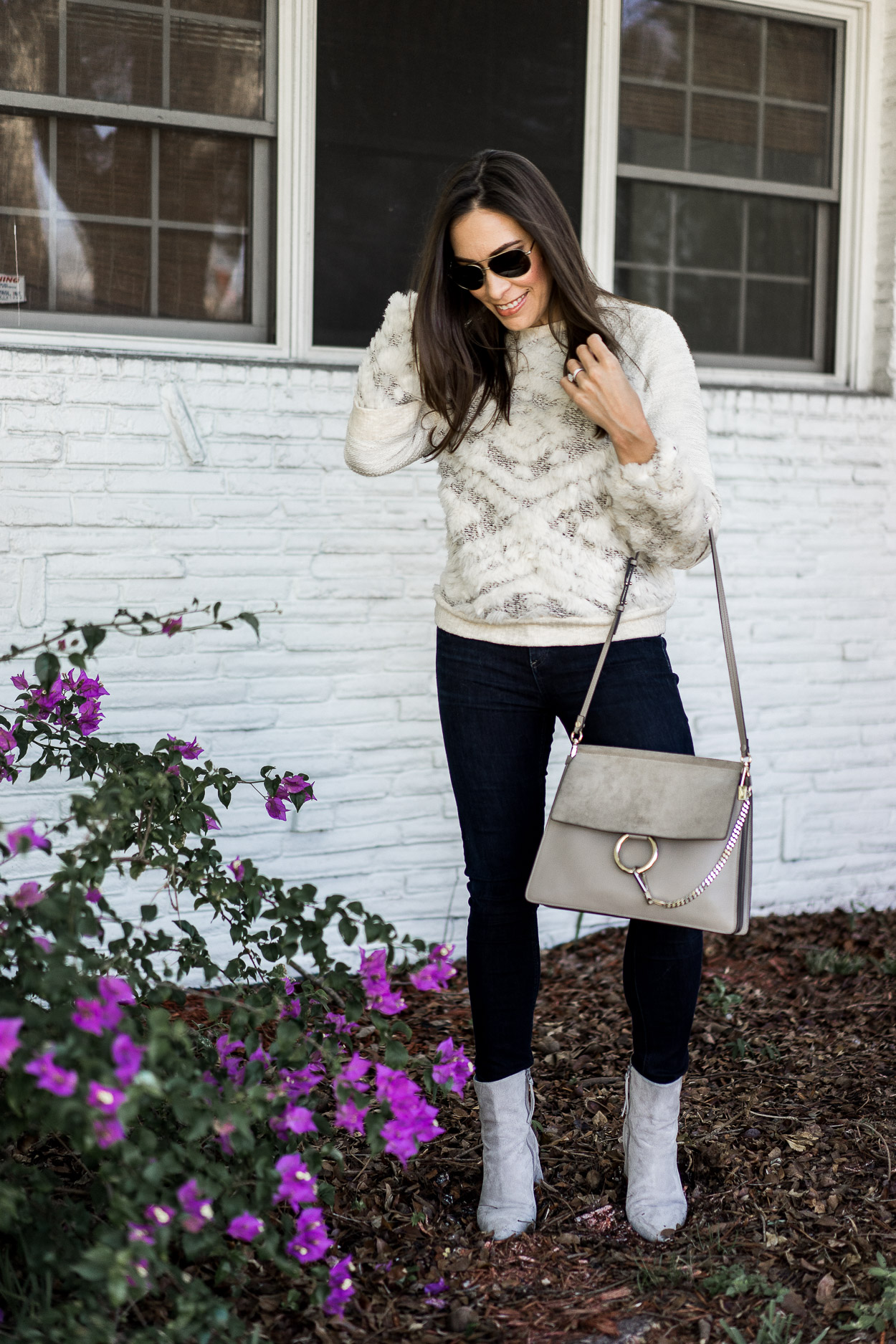 This Anthropologie knit is one of their best cozy sweaters