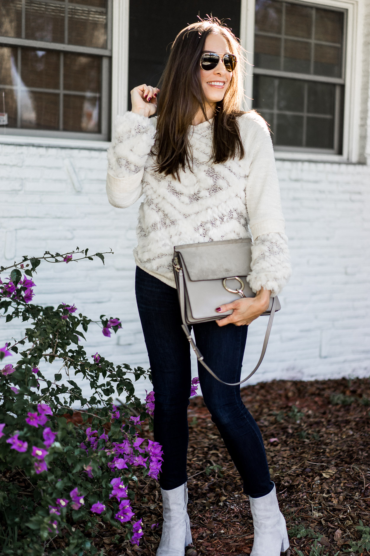 Rounding up all the cozy sweaters including this textured Anthropologie sweater