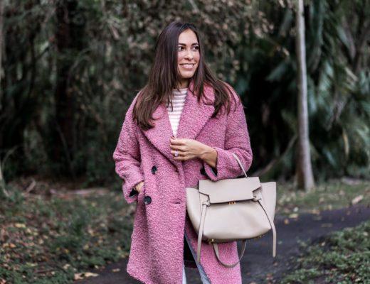 9cf8e7b4d3b Topshop blush teddy bear coat is this seasons most coveted winter coat