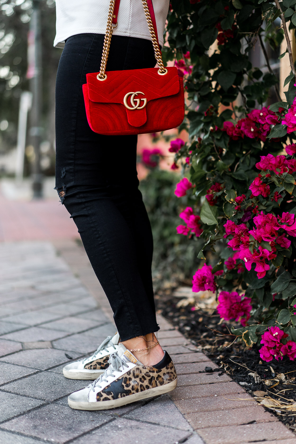 46fce53fbae6 puffy-shirt-statement-sleeves-cece-puffed-shoulder-top-red-velvet-gucci- marmont-bag-golden-goose-leopard-sneakers-aglamlifestyle-8