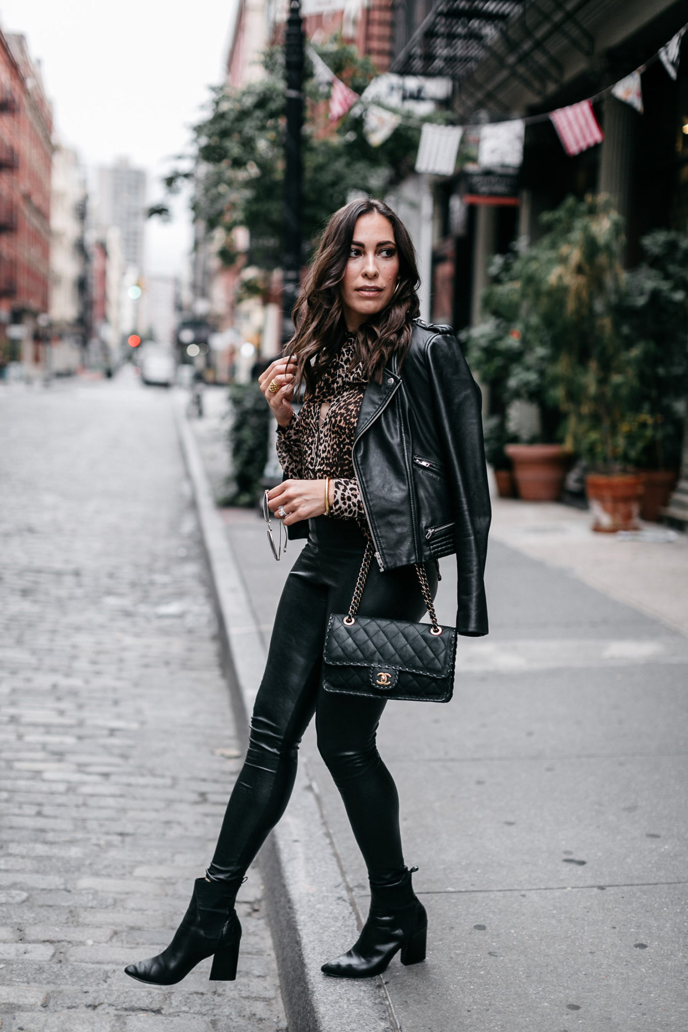 Fashion week Fashion fall trends faux leather for lady