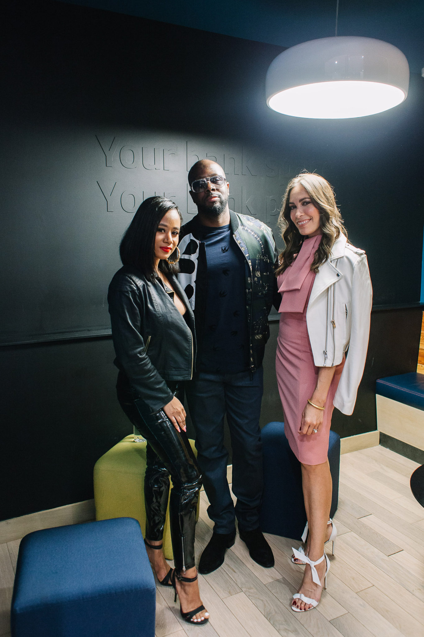 5136938eebcd Amanda of A Glam Lifestyle interviews Wyclef Jean and Jazzy Amra about the  power of listening