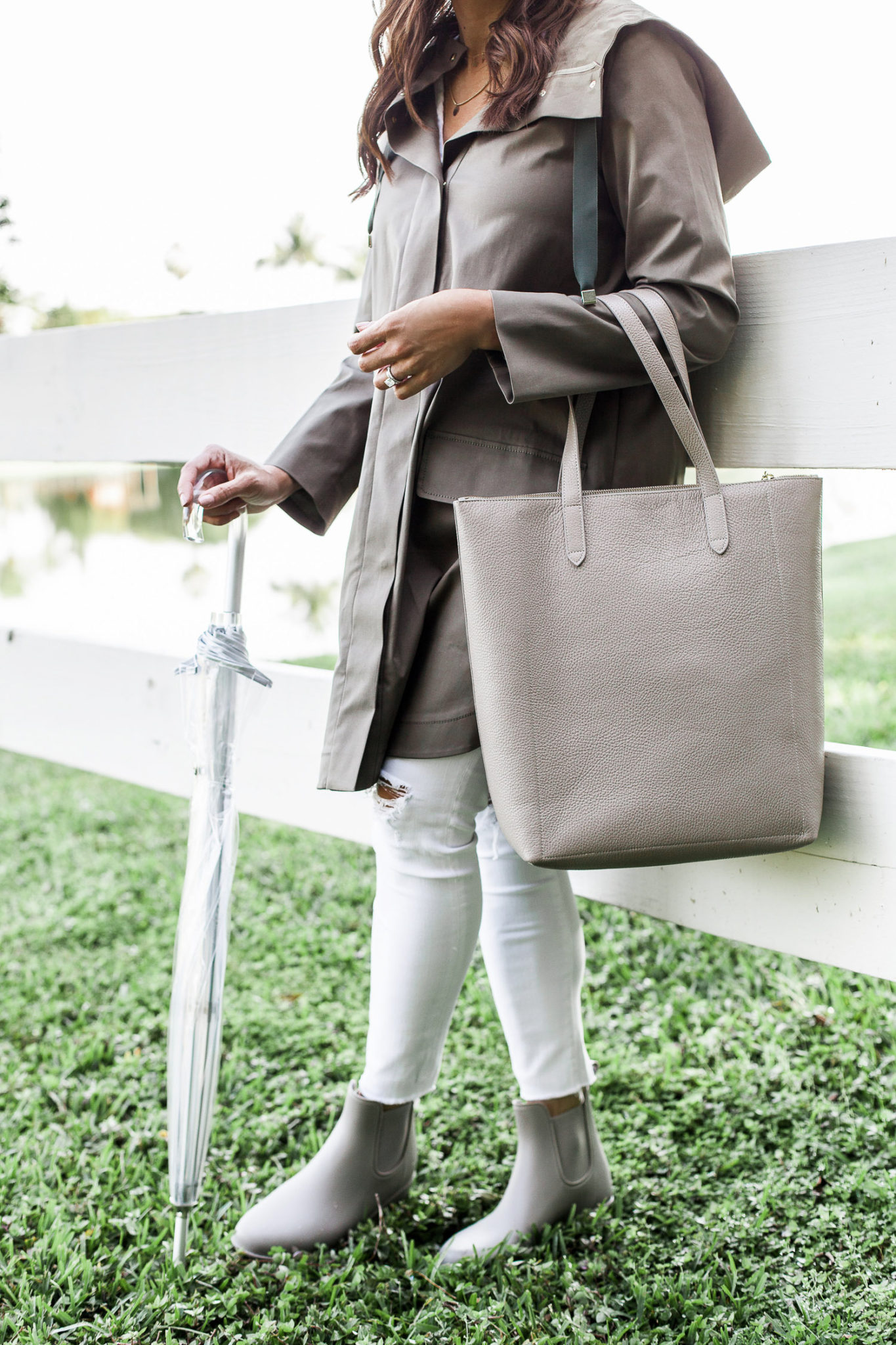 591576d3f90 Chic Rainy Day Outfit - A Glam Lifestyle